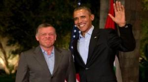 Barack Obama, King Abdullah II