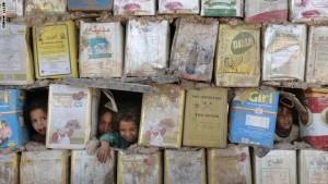 Internally displaced Iraqi Shiite childr