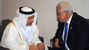 President Mahmoud Abbas Meets With UAE Minister For Foreign Affairs In Egypt