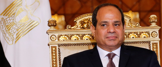 Egypt's President Abdel Fattah al-Sisi attends during signing of agreements ceremony with Sudanese President Omar Hassan al-Bashir (unseen) at the El-Thadiya presidential palace in Cairo, Egypt October 5, 2016. REUTERS/Amr Abdallah Dalsh