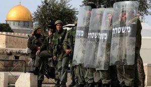 قوات الاحتلال الصهيوني تغلق القدس