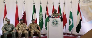 Saudi military spokesman Ahmed Asiri briefs journalists on the Saudi-led coalition's strikes on Houthi rebels in Yemen, during a press conference, in Riyadh, Saudi Arabia, Thursday, April 16, 2015. Al-Qaida seized control of a major airport, a sea port and an oil terminal in southern Yemen on Thursday, consolidating its hold on the country's largest province amid wider chaos pitting Shiite rebels against forces loyal to the exiled president and a Saudi-led air campaign. (AP Photo/Hasan Jamali)