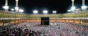Saudi Arabia,Makkah (Mecca),Mosque, worshippers before the Kaba