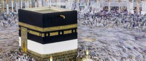 MECCA, SAUDI ARABIA - SEPTEMBER 7: Muslim pilgrims circumambulate around the Kaaba, Islam's holiest site, located in the center of the Masjid al-Haram (Grand Mosque) in Mecca, Saudi Arabia on September 7, 2016. (Photo by Orhan Akkanat/Anadolu Agency/Getty Images)
